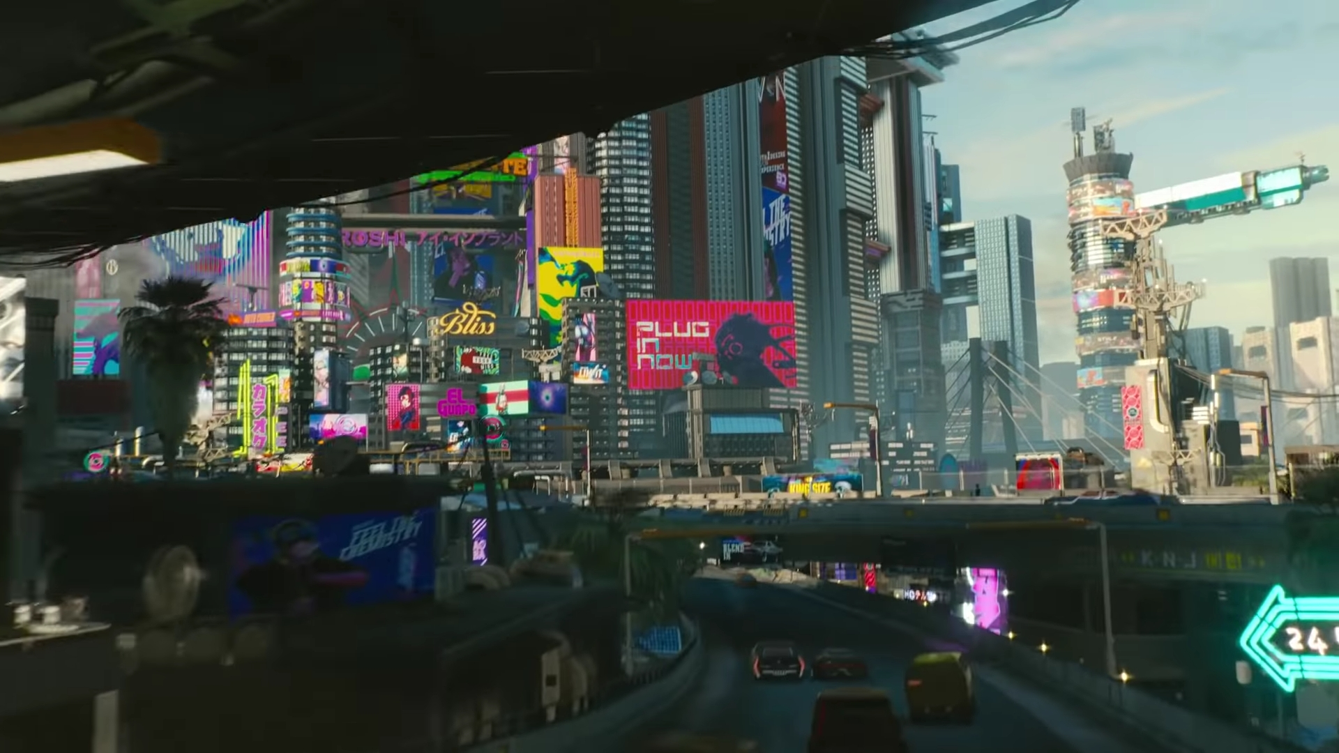 Cyberpunk 2077 - City Center District - Cyberpunk 2077 map ...